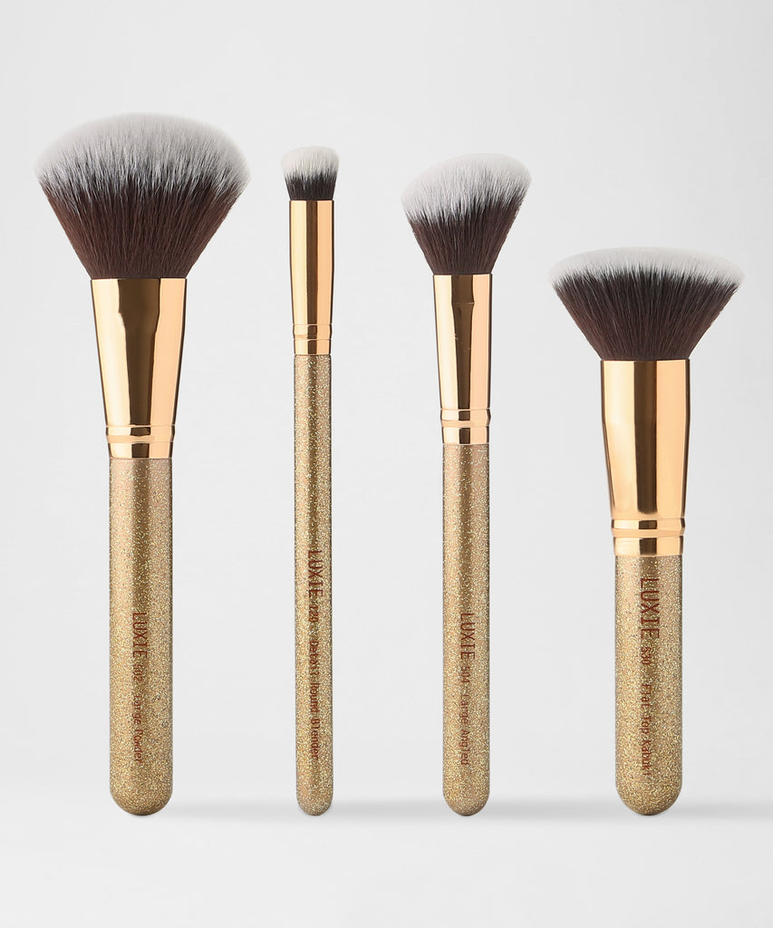 LUXIE Luminous Face Brush Set - LuxieBeauty