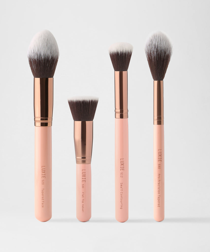 LUXIE Powder Contour Set  -  Rose Gold - luxiebeauty