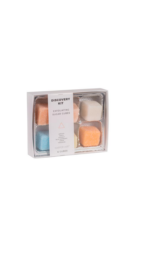 Exfoliating Sugar Cubes - Discovery Kit Gift Box