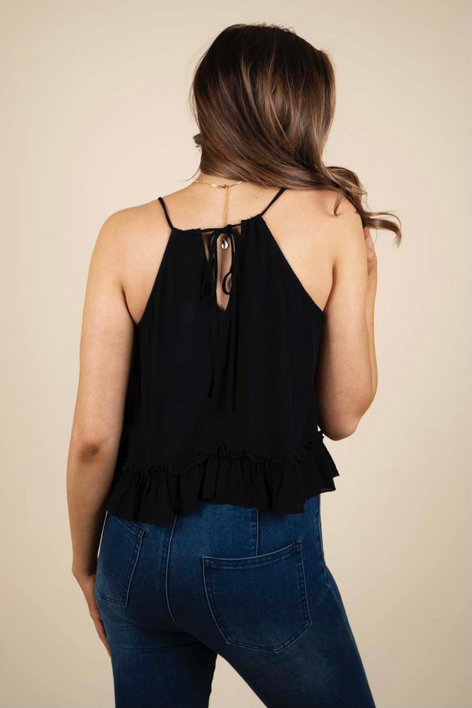 Charming Confidence Tank Top (Black)