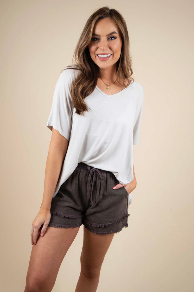 Simple Style Shorts (Ash)