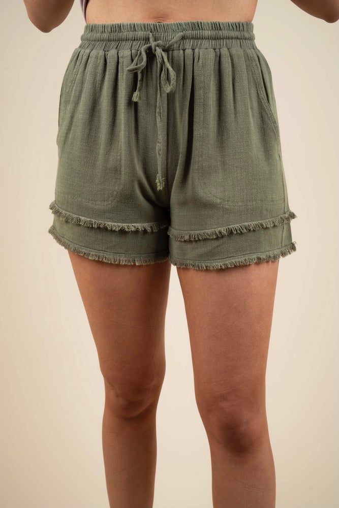 Simple Style Shorts (Olive)