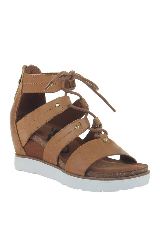OTBT - RIVERFRONT in NEW TAN Wedge Sandals