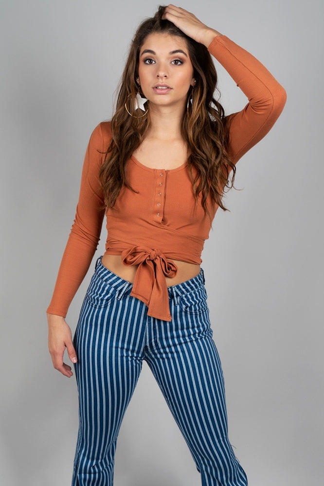 Love Like This Top (Rust)