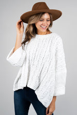 Back To You Sweater (White)