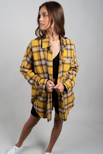 Breezy Days Flannel (Mustard)
