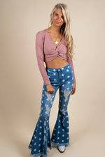 Seeing Stars Flares (Light Denim)