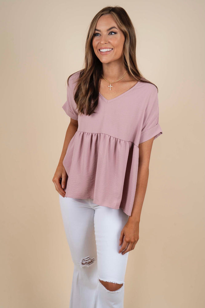 Chasing After You Blouse (Rosewood)