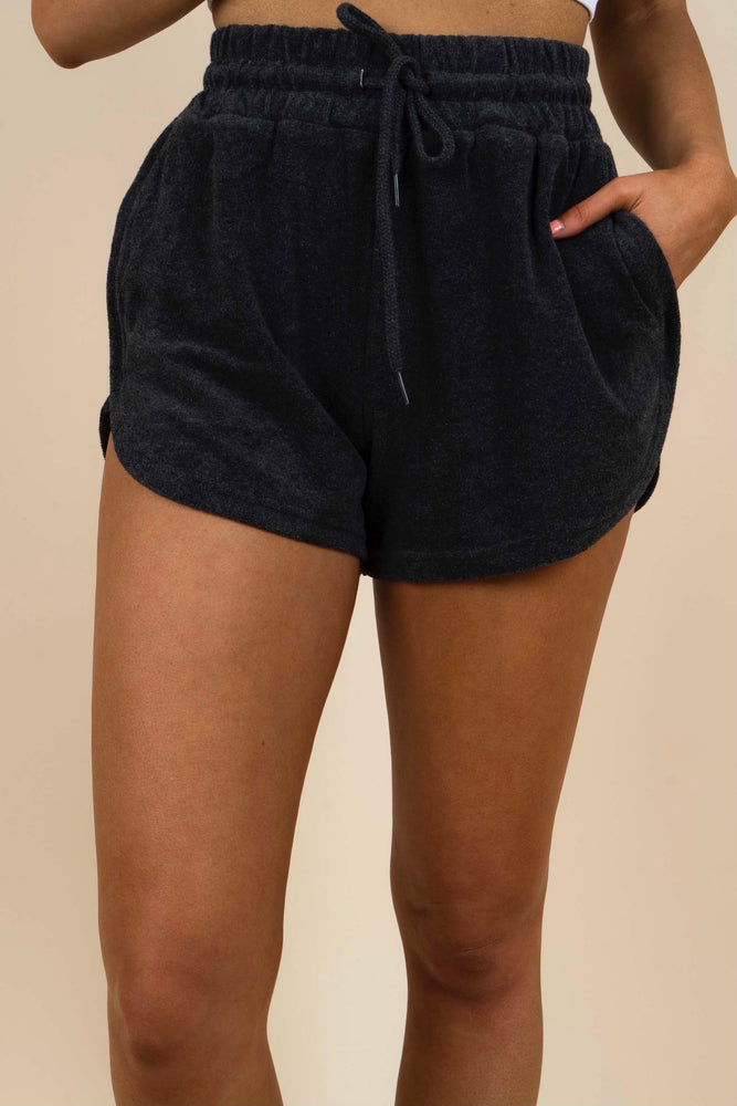 Lively Days Shorts (Charcoal)