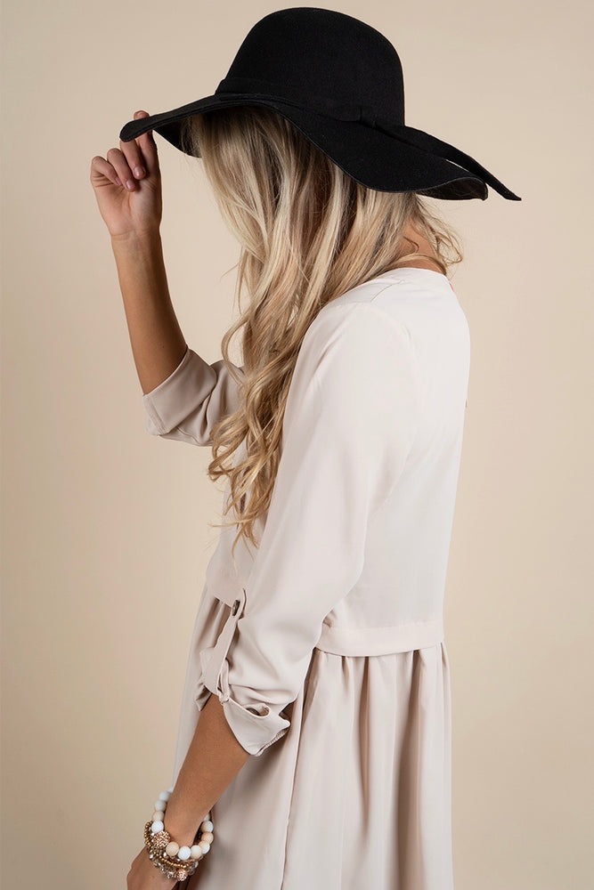 Falling For It Hat (Black)