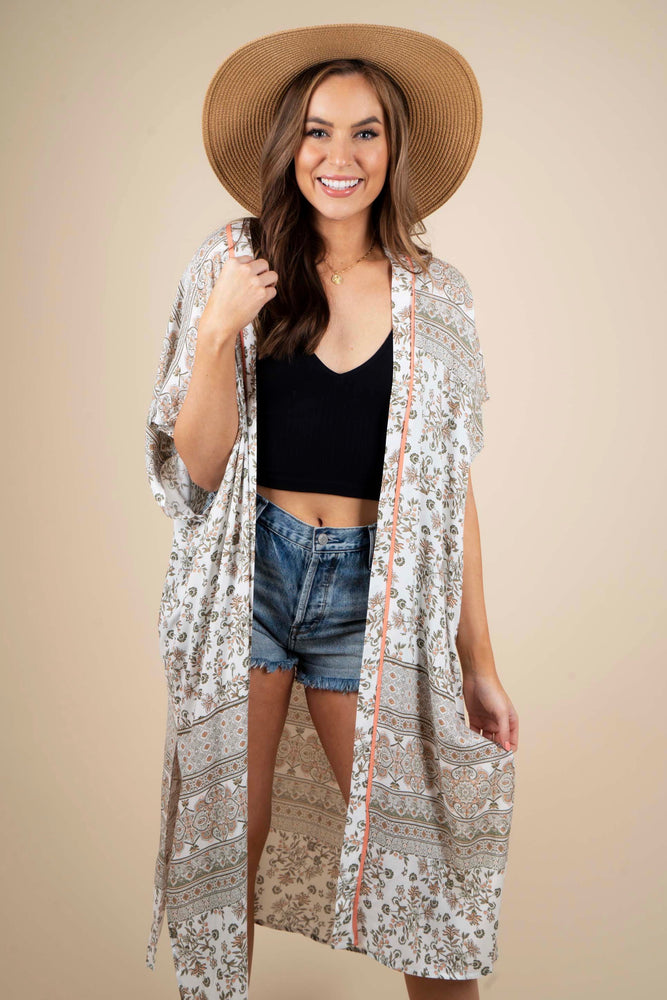 Floral Dreams Duster