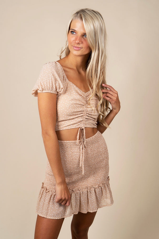 Searching For You Two Piece Set (Taupe)