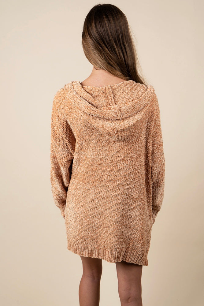 Hold You Closer Cardigan (Mustard)