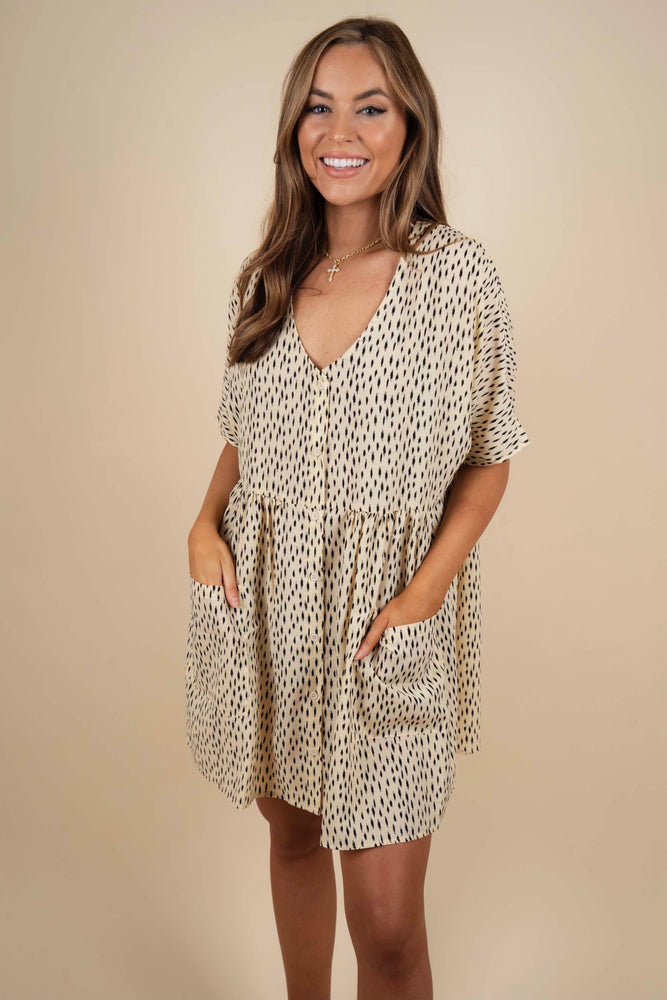 Best Of Me Dress (Cream)