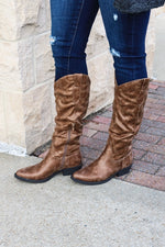 Madeline Girl Big Guns Boots (Hickory)