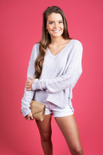 Now Or Never Sweater (Lavender)