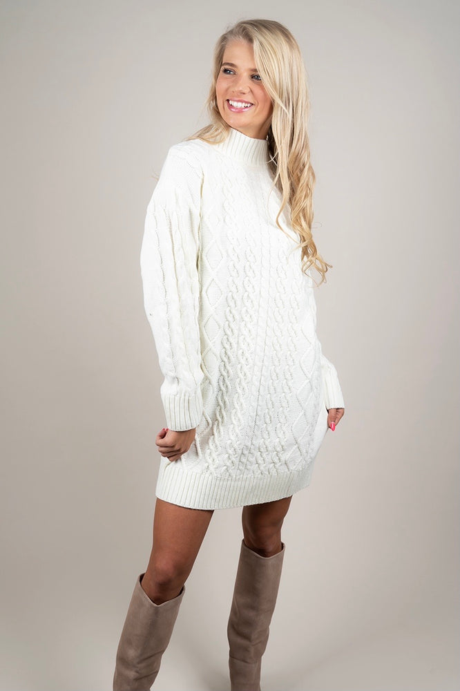 Owned The Night Sweater Dress
