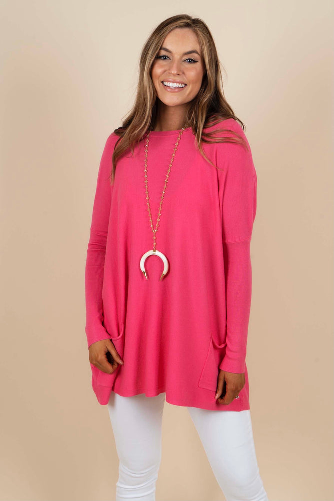 Totally Smitten Sweater (Bubblegum)
