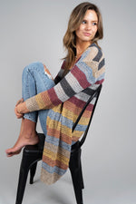 Tell It All Cardigan (Burgundy)