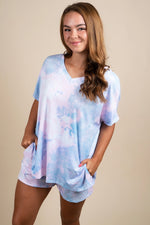 Pink Mix Tie Dye Set