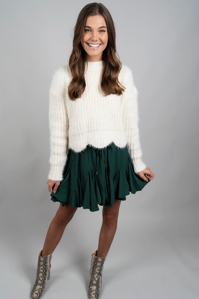 Before You Go Sweater (Ivory)