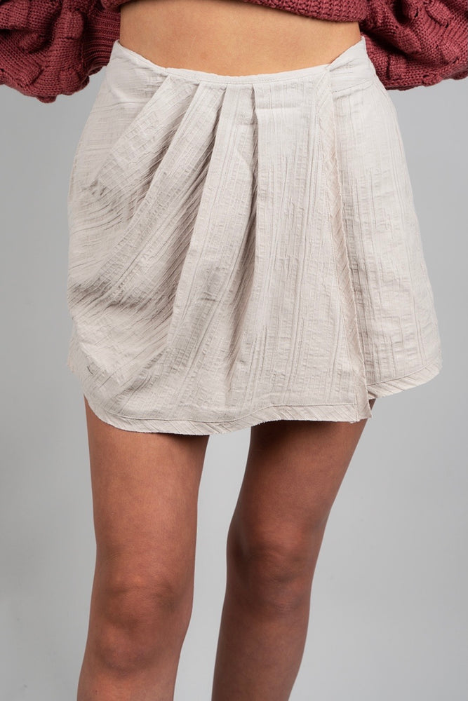Half Of My Heart Skort (Sand)