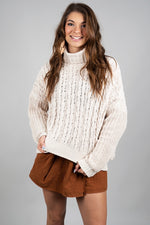 Take Your Time Sweater (Almond)