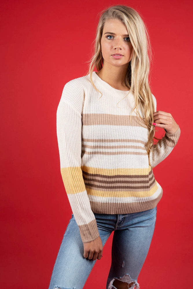 Peyton Sweater (Buttercup)