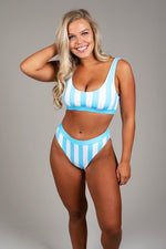 Ocean Skies Two Piece (Light Blue)