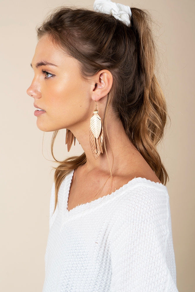 Falling For Love Earrings