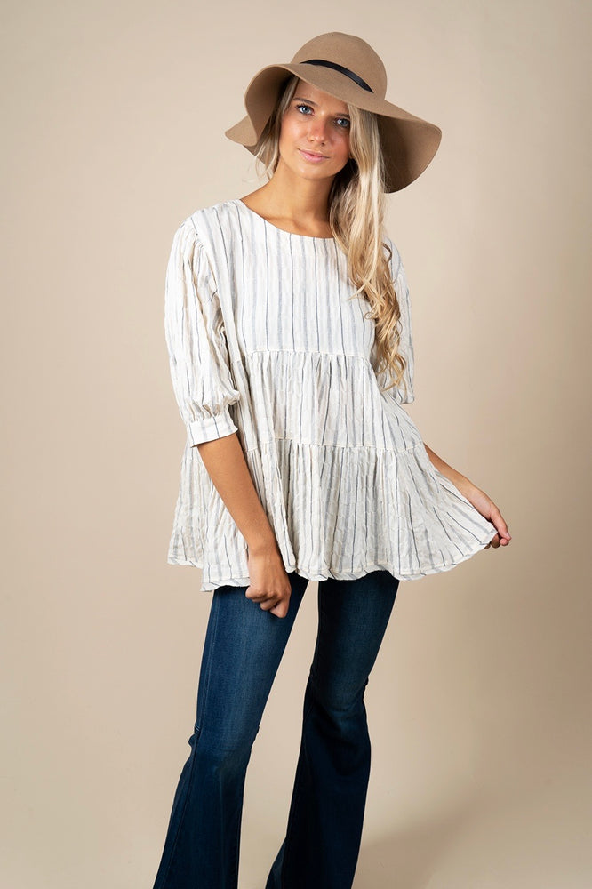 Lesson Learned Babydoll Top