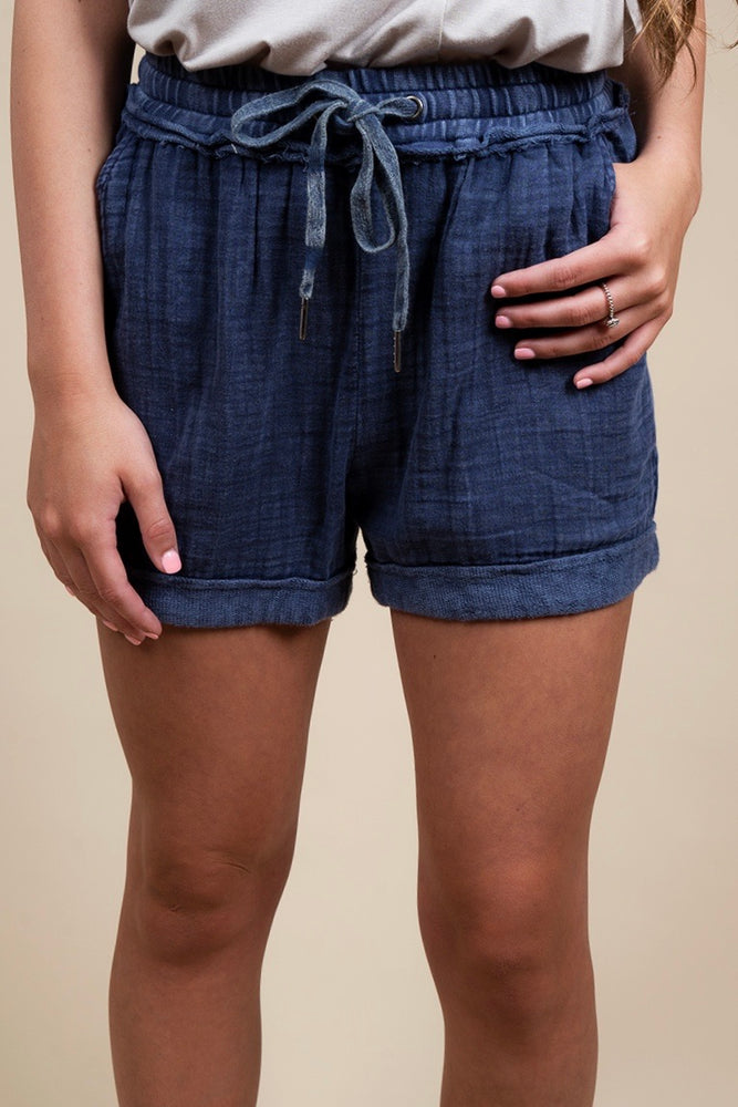 Whatever We Do Shorts (Navy)