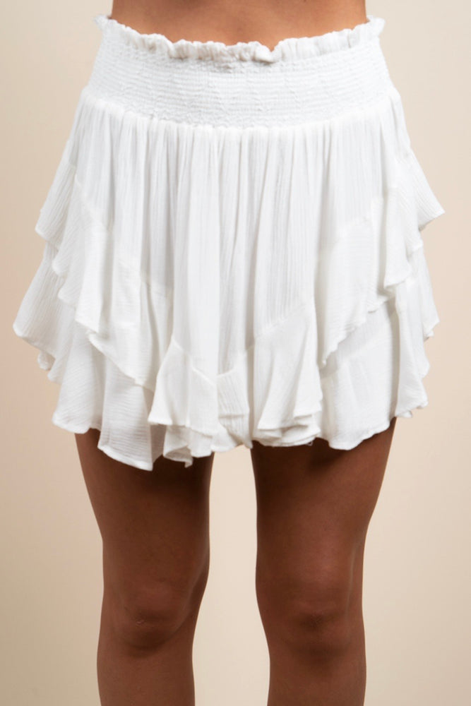 My Way Or The Highway Skirt (Off White)