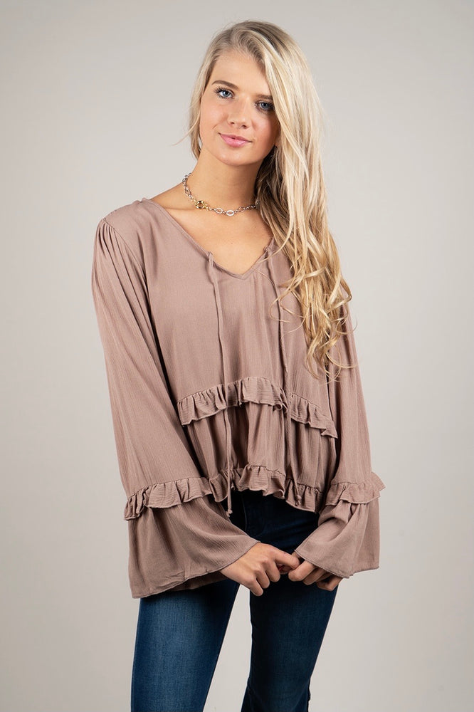 Into You Blouse (Sand)