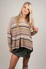 Casual Days Sweater (Taupe)