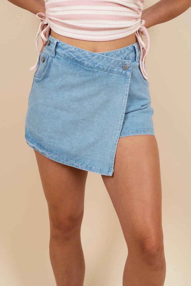 Denim Dreams Skort