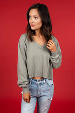 Take Your Love Top (Olive)