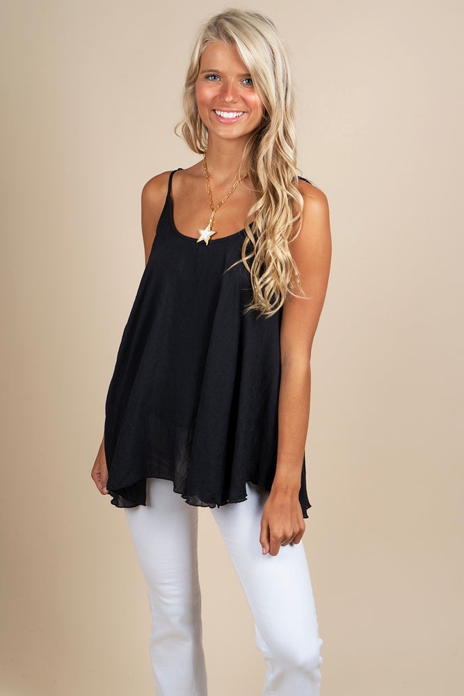 Can't Buy Me Love Tank (Black)