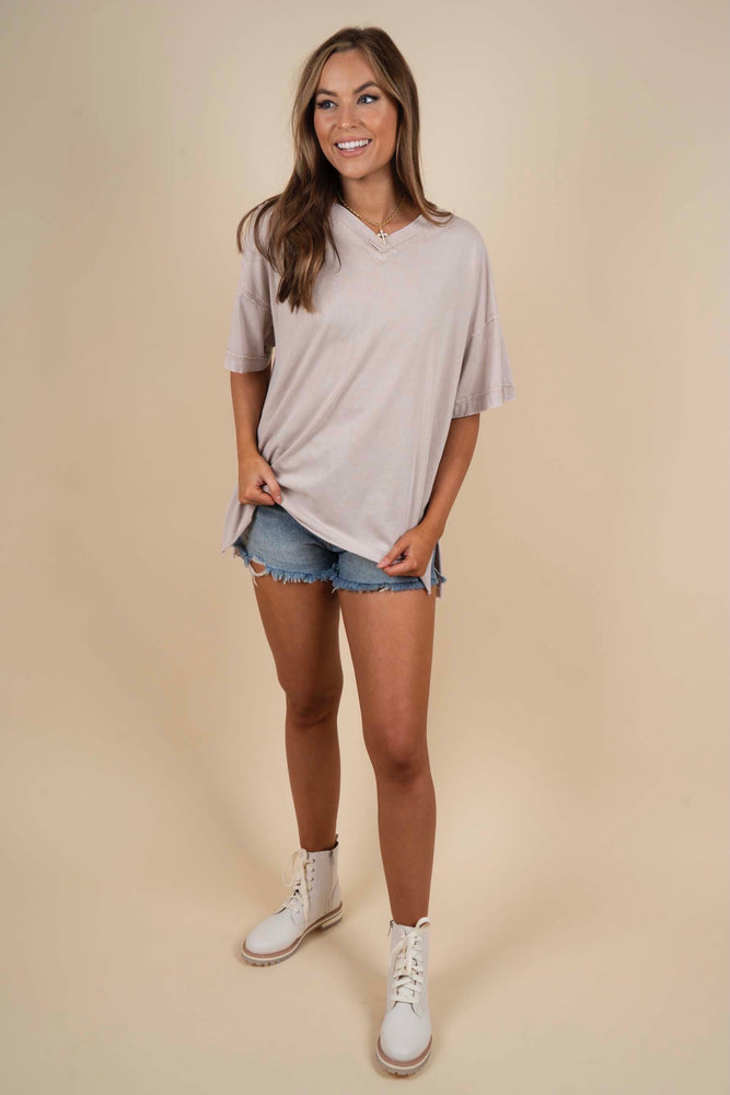 Dreamy Days Tee (Khaki)