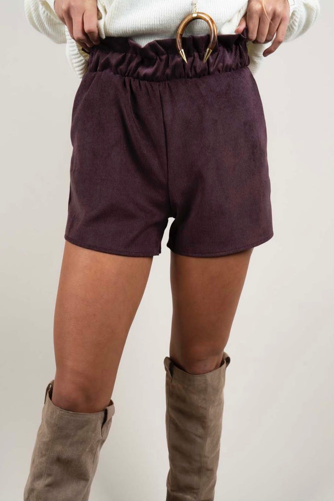 Graceful Love Shorts (Chocolate)