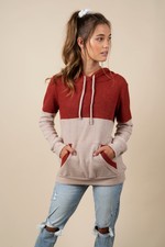 Happy Times Hoodie (Red)