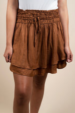 Wishful Thinking Skirt (Caramel)