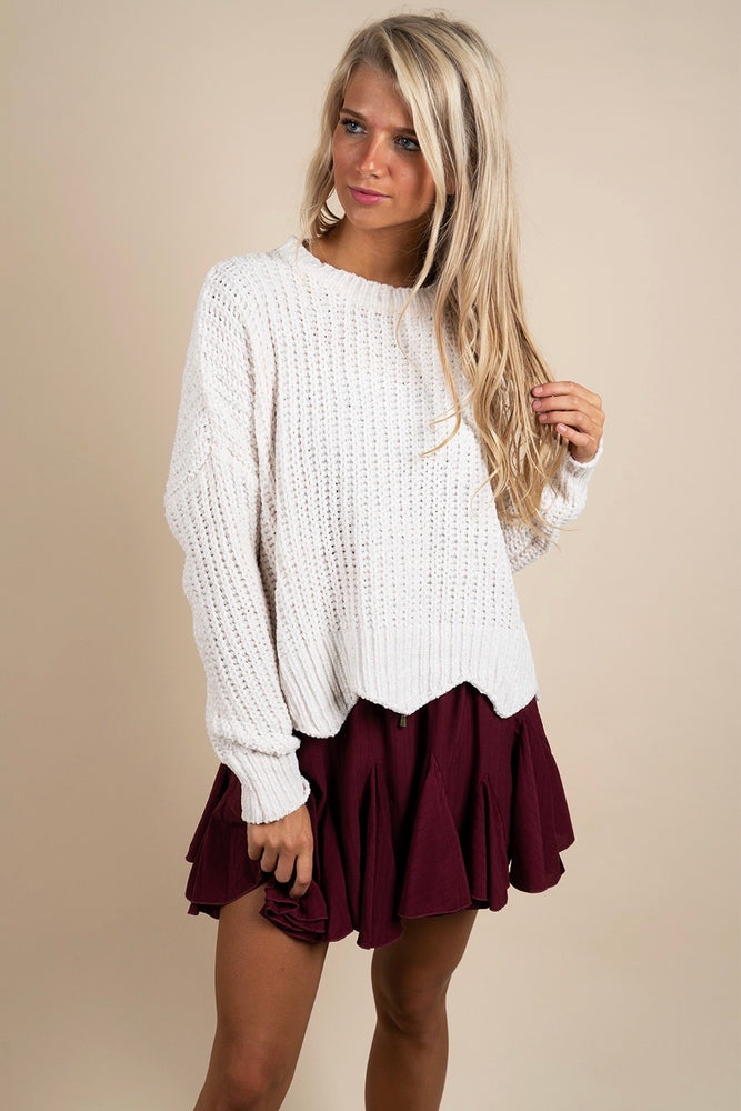 Sweetest Memories Sweater (Ivory)
