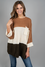 Something About You Sweater (Toffee)