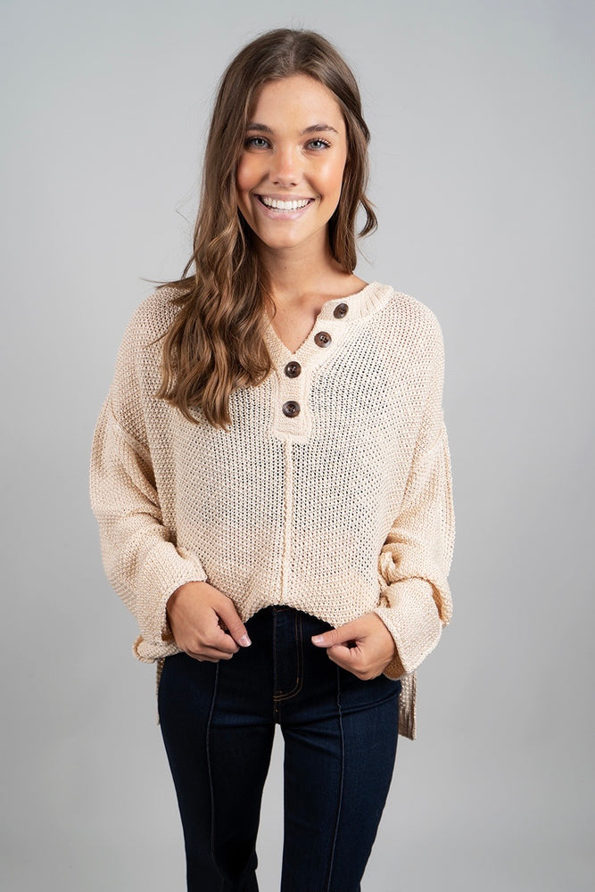 Such A Delight Sweater (Natural)