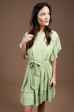 Believe In Fate Dress (Jade Lime)