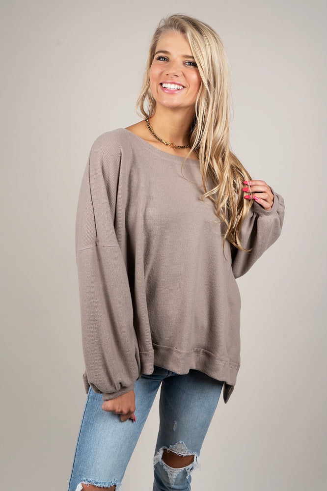 Must Be Yours Top (Mocha)