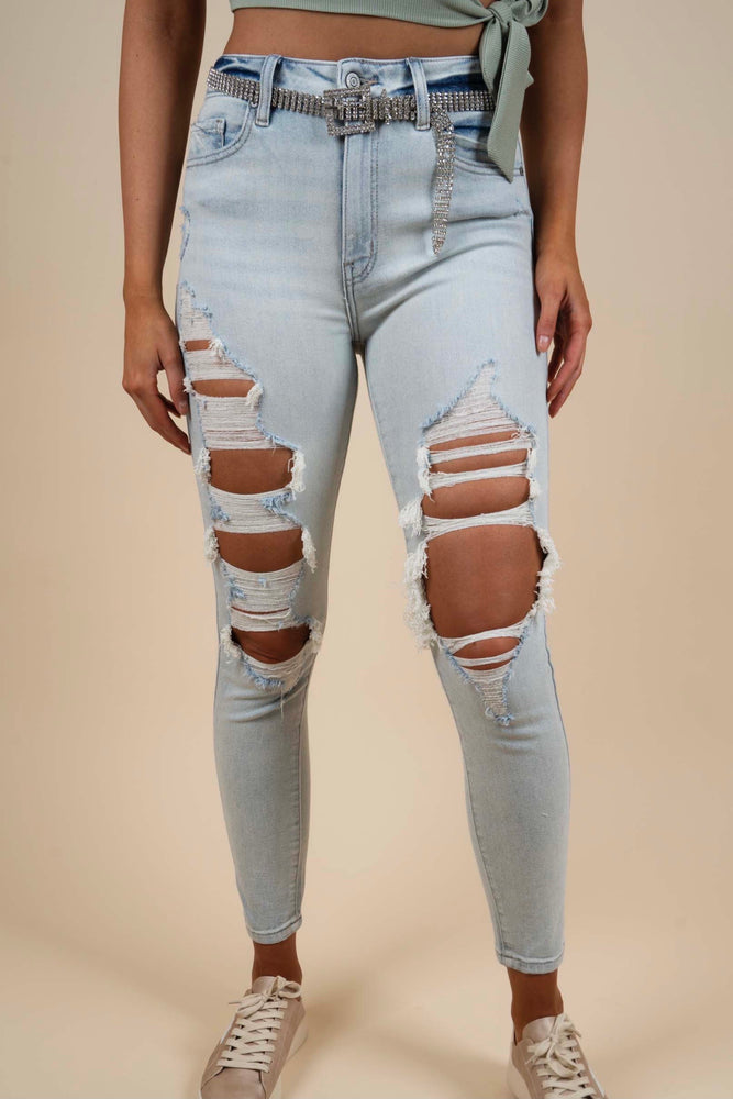 Bella Super High Rise Skinny Ankle (Bonus Points LT)