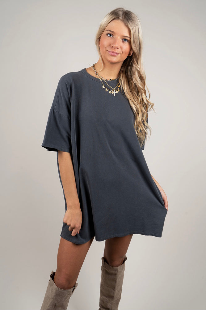 Natural Beauty T-Shirt Dress