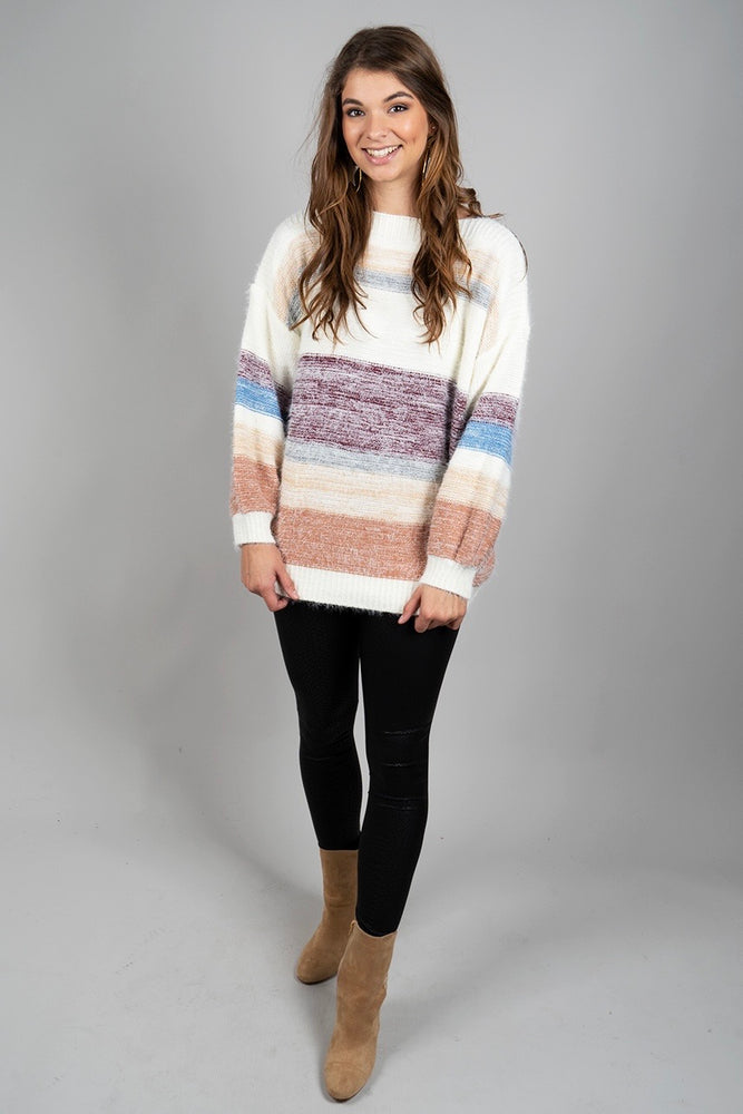 Daydreaming Sweater (Maroon)